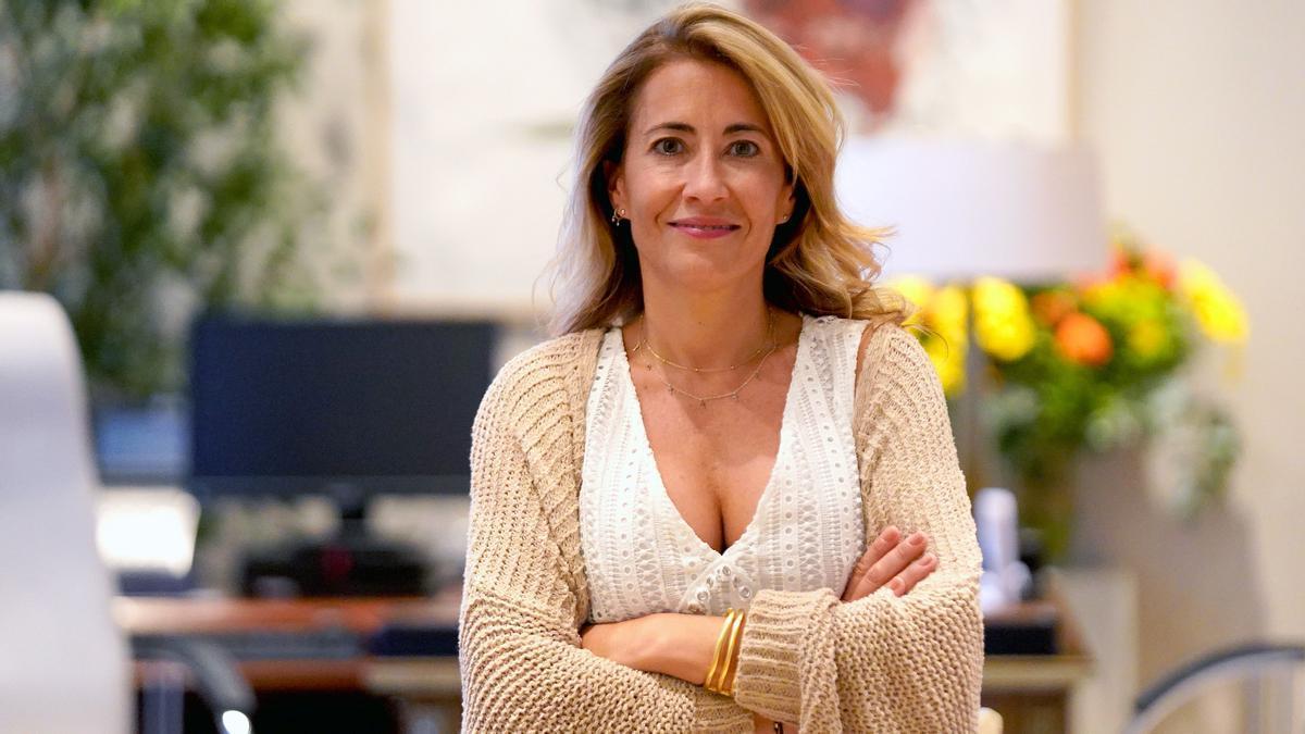 Raquel Sanchez, ministra de transportes del Gobierno español