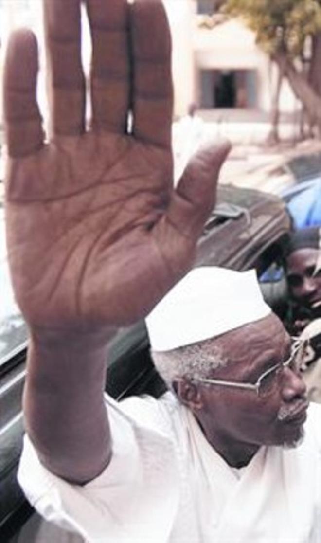 Dictador 8 Hissène Habré, en una imagen del 2005 en Dakar.