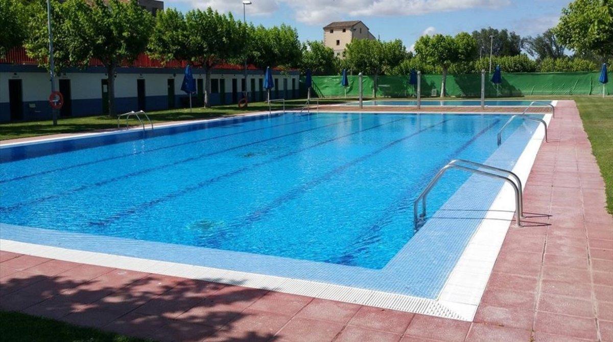La piscina municipal de Torres de Segre.