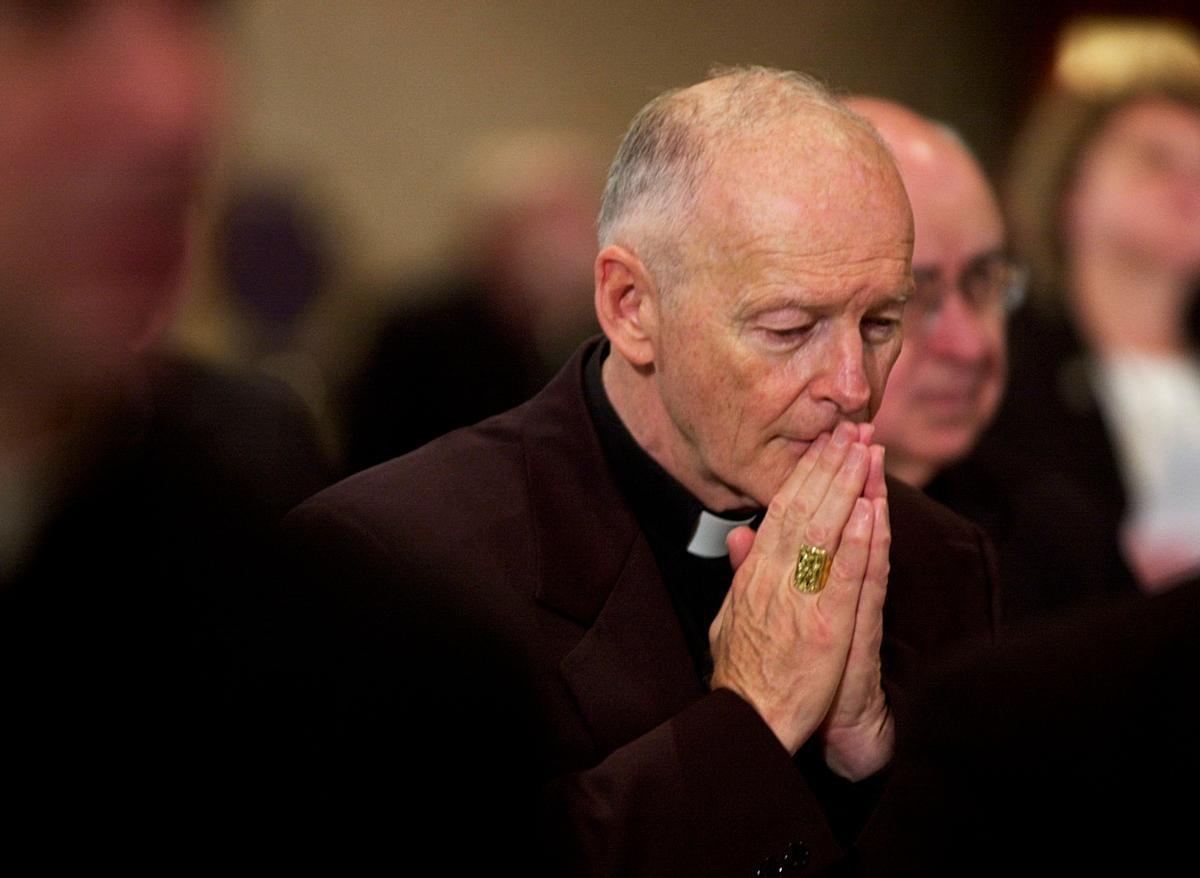 L'excardenal McCarrick, acusat d'assalt sexual a un menor en un tribunal dels EUA