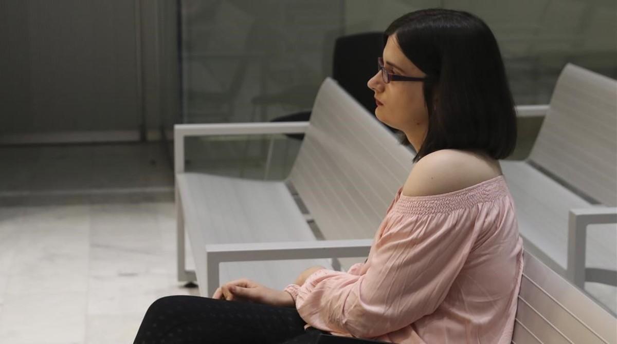 Cassandra Vera, duranteel juicio en la Audiencia Nacional.
