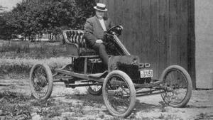 El viejo coche eléctrico