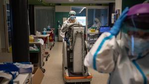 Maquinaria sanitaria del hospital de Zamora.