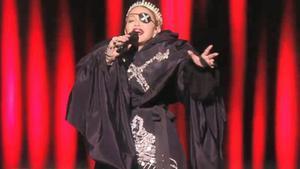 El missatge de pau subliminar de Madonna en la seva apoteòsica actuació a Eurovisió