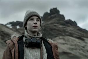 Guðrún eyfjörð, la protagonista de la serie de Netflix 'Katla'