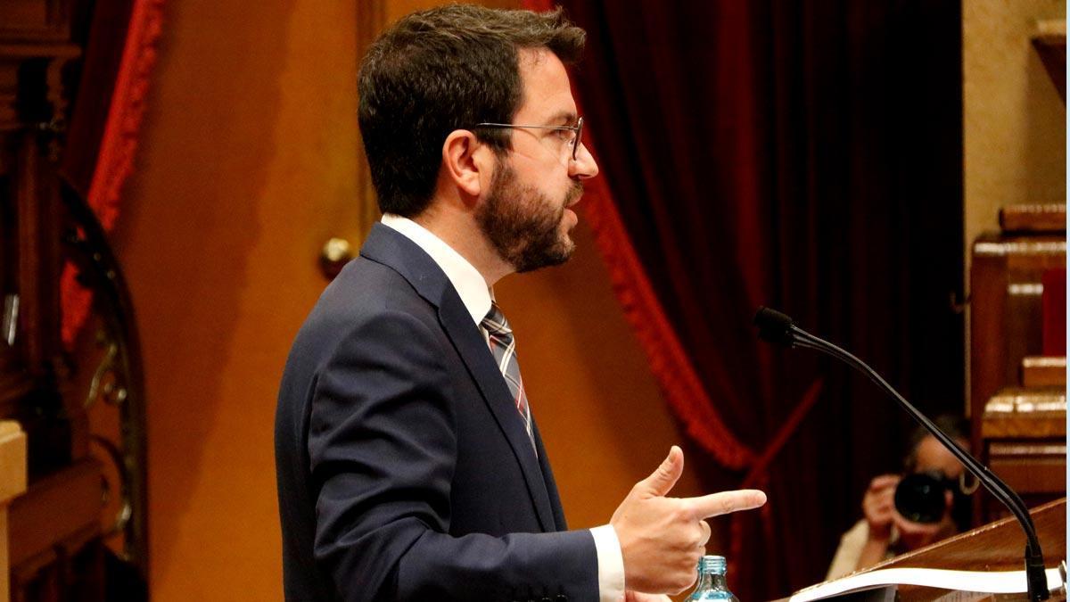 Aragonès fa una lleu autocrítica davant la cinquena onada de la pandèmia