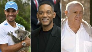 Rafa Nadal, Will Smith i Amancio Ortega, caps ideals per als espanyols