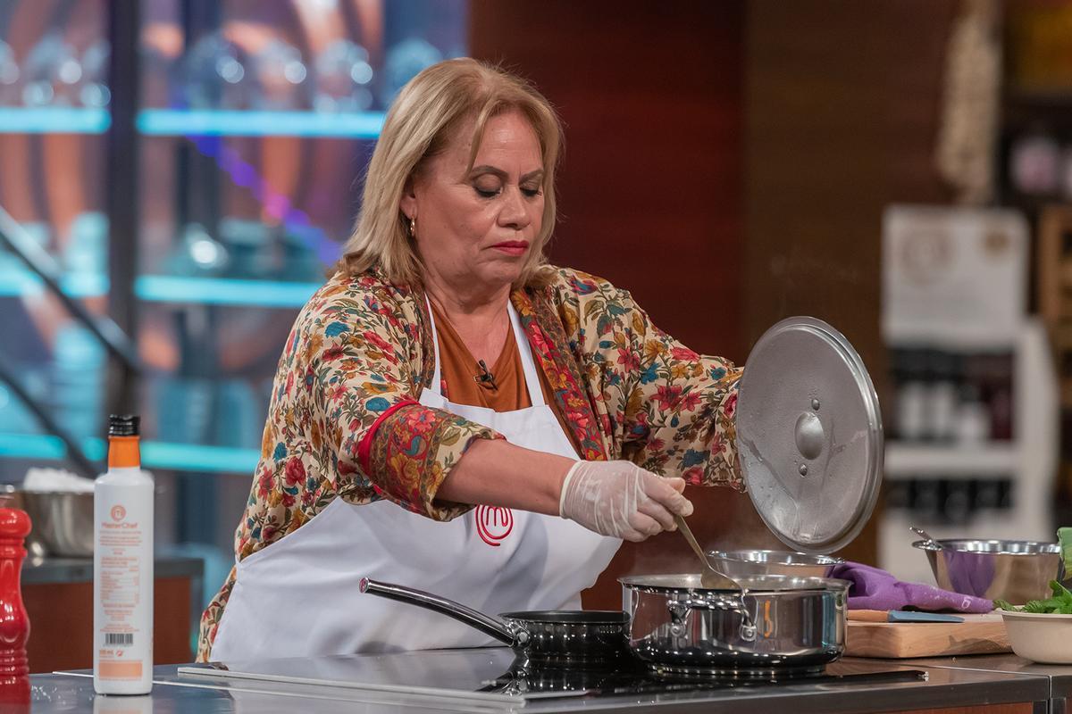 Carmina Barrios en 'Masterchef Celebrity'