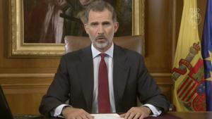 El Rei va fer el discurs del 3-O malgrat els dubtes del Govern