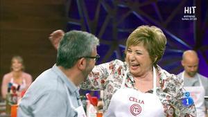 Celia Villalobos, en 'Masterchef celebrity'.
