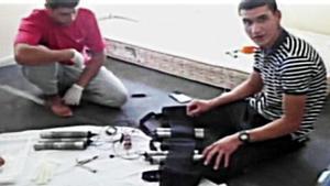 La célula terrorista del 17-A, fabricando explosivos en la casa de Alcanar