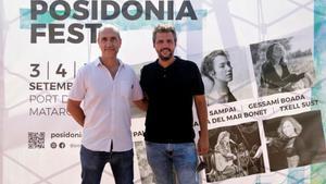 Los directores del Posidònia Fest, David Mullor y Carlos Moreno.