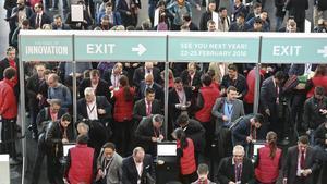 El salón Mobile World Congress 2015 (MWC) de Barcelona.