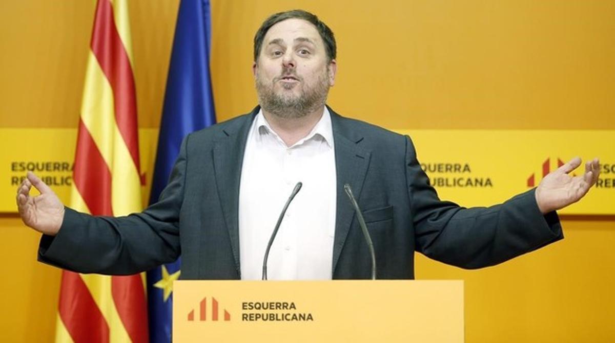 Sáenz de Santamaría cita a Junqueras el jueves en la Moncloa