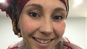 Mónica Fores, enferma de cáncer de mama