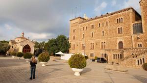 El santuario de Sant Josep de la Muntanya, que alberga un centro de menores en sus instalaciones.