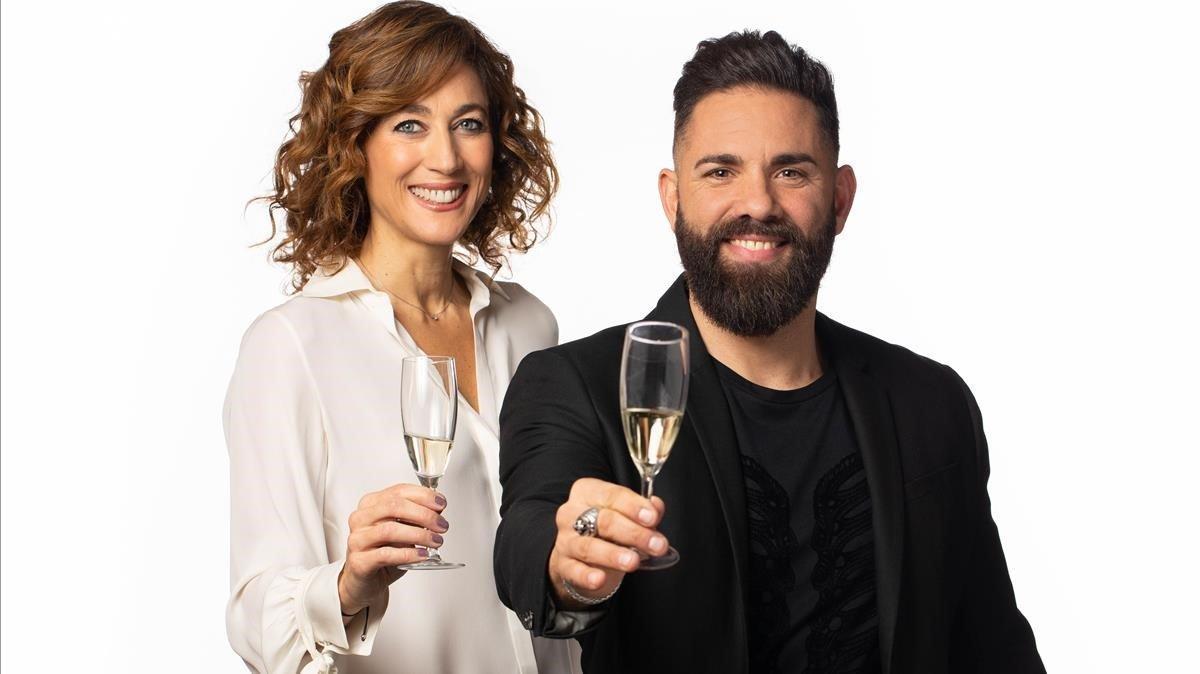 Helena Garcia Melero y Marc Ribas darán las campanadas en TV-3.