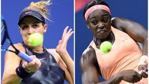 Madison Keys y Sloane Stephens.