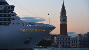 Itàlia blinda Venècia dels grans creuers