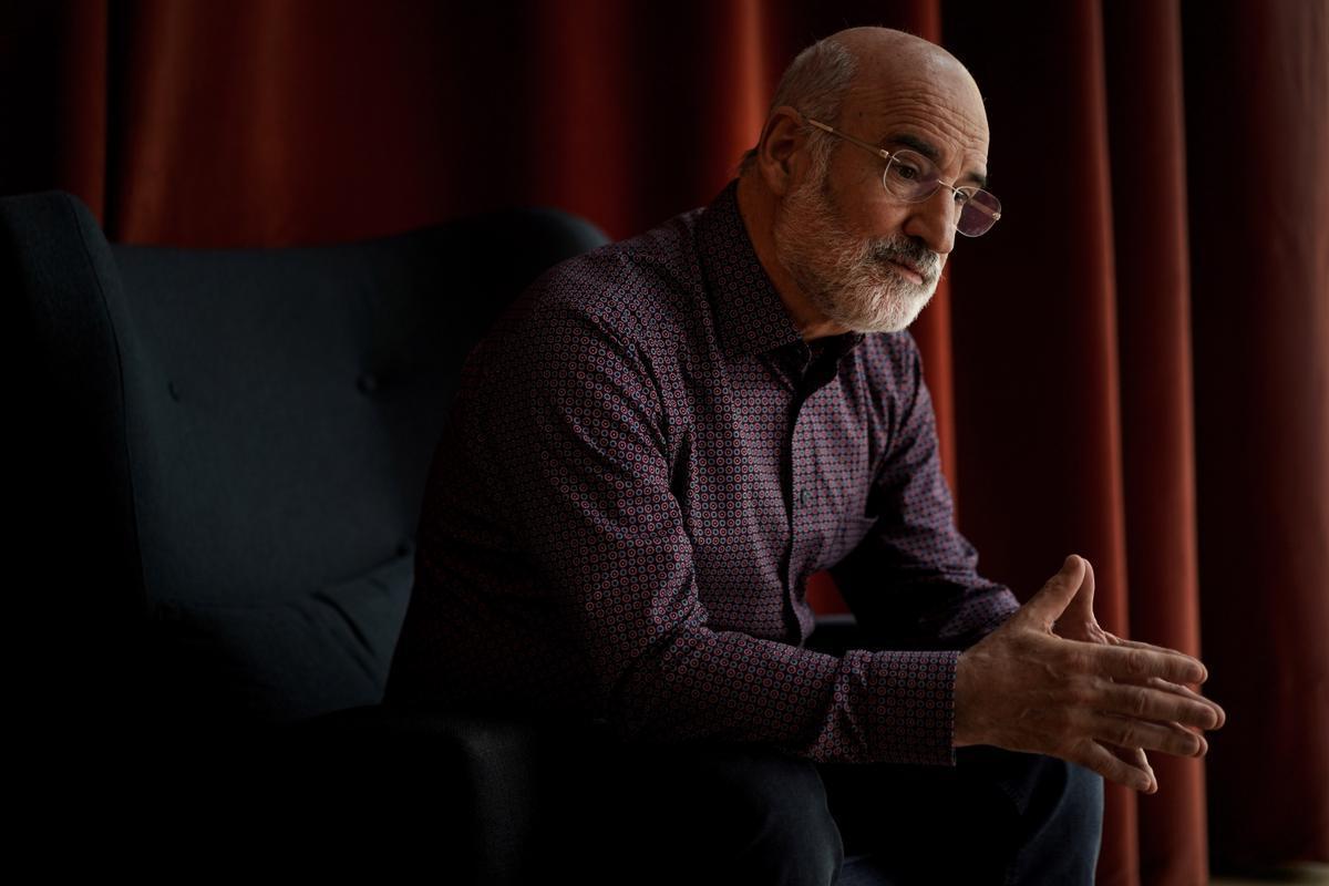 El escritor Fernando Aramburu, en Madrid.