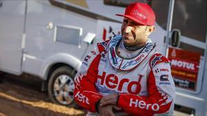 El piloto potugués Paulo Gonçalves (Hero), de 40 años, que ha fallecido hoy en el Dakar de Arabia Saudí.