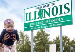 La bebé viajera de cinco meses que ha recorrido 50 estados para tener su Record Guinness