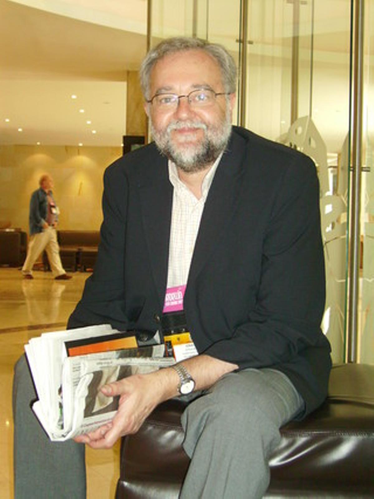 Ignacio Bosque en una imagen de archivo.