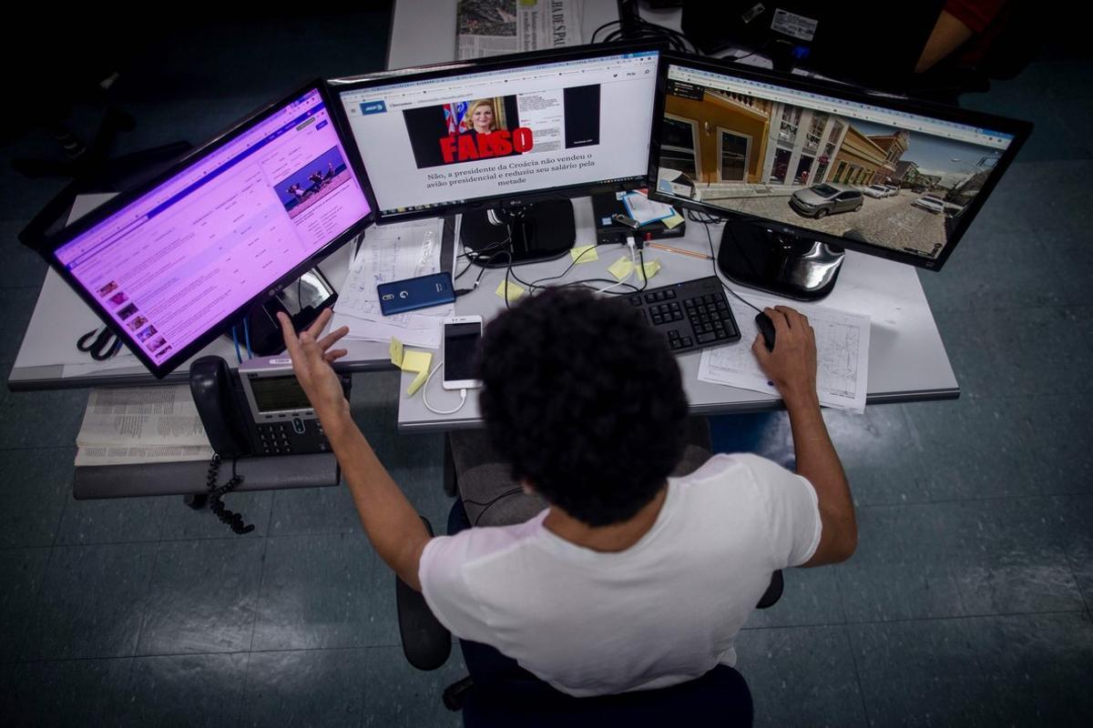 Para combatir las noticias falsas, un consorcio de 24 medios formó la plataforma Comprova