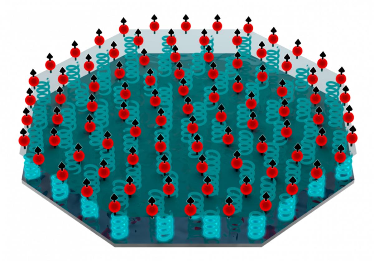 Crean un cristal cuántico capaz de detectar materia oscura