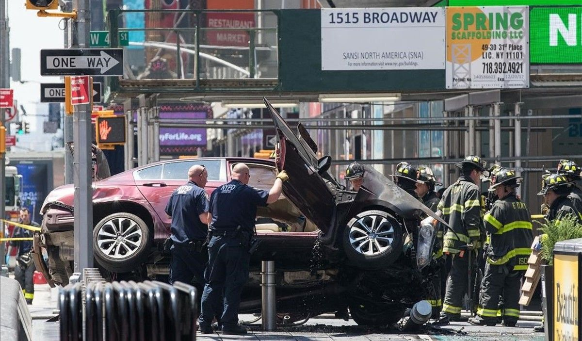 Atropellament mortal a Times Square