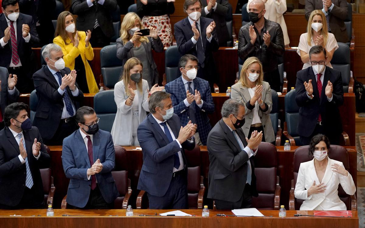Ayuso redueix a nou el nombre de conselleries de Madrid