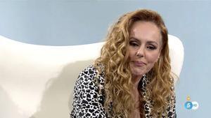Rocío Carrasco en la entrevista final de su documental.