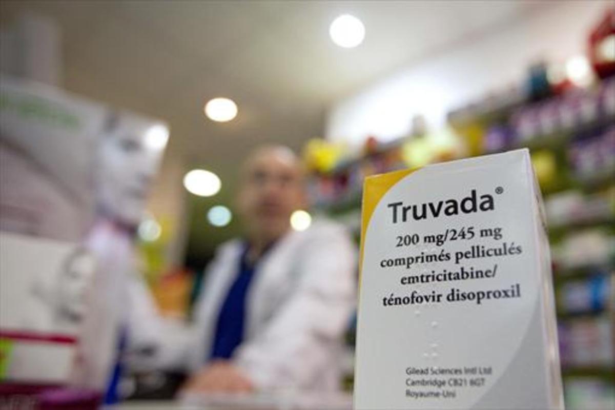 Truvada 8El medicamento antirretroviral, en una farmacia de parís.
