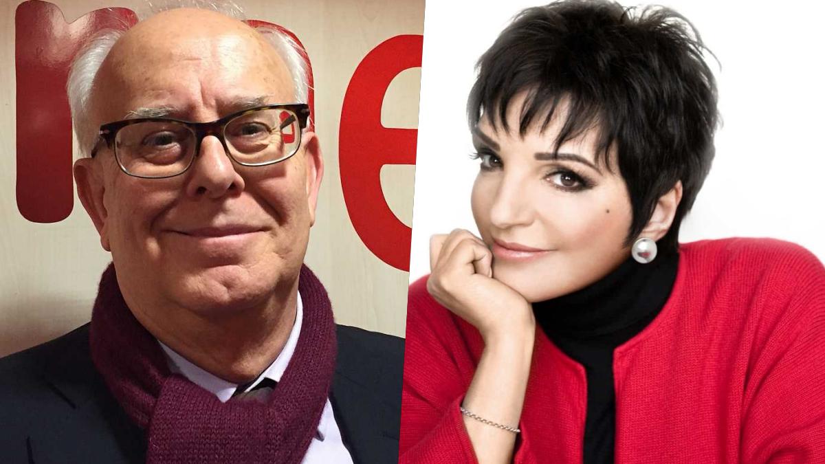 Ramon Colom y Liza Minelli