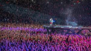 Concierto de AC/DC en el Estadi Olímpic en el 2015