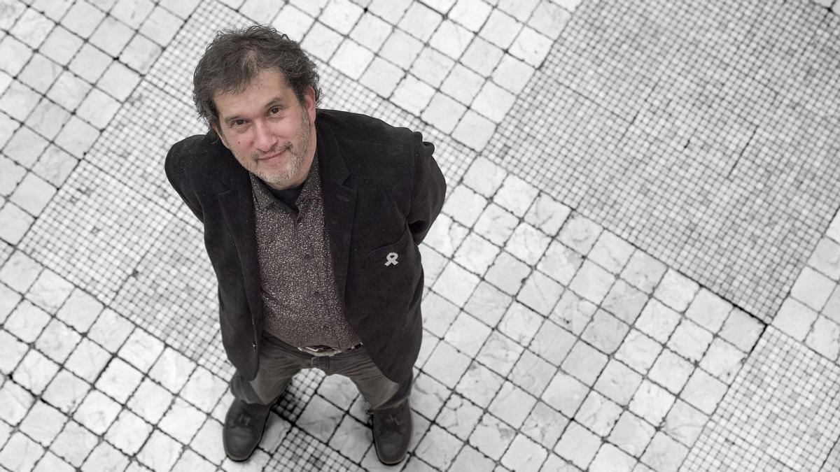 El escritor de Perpiñán Joan-Lluís Lluís.