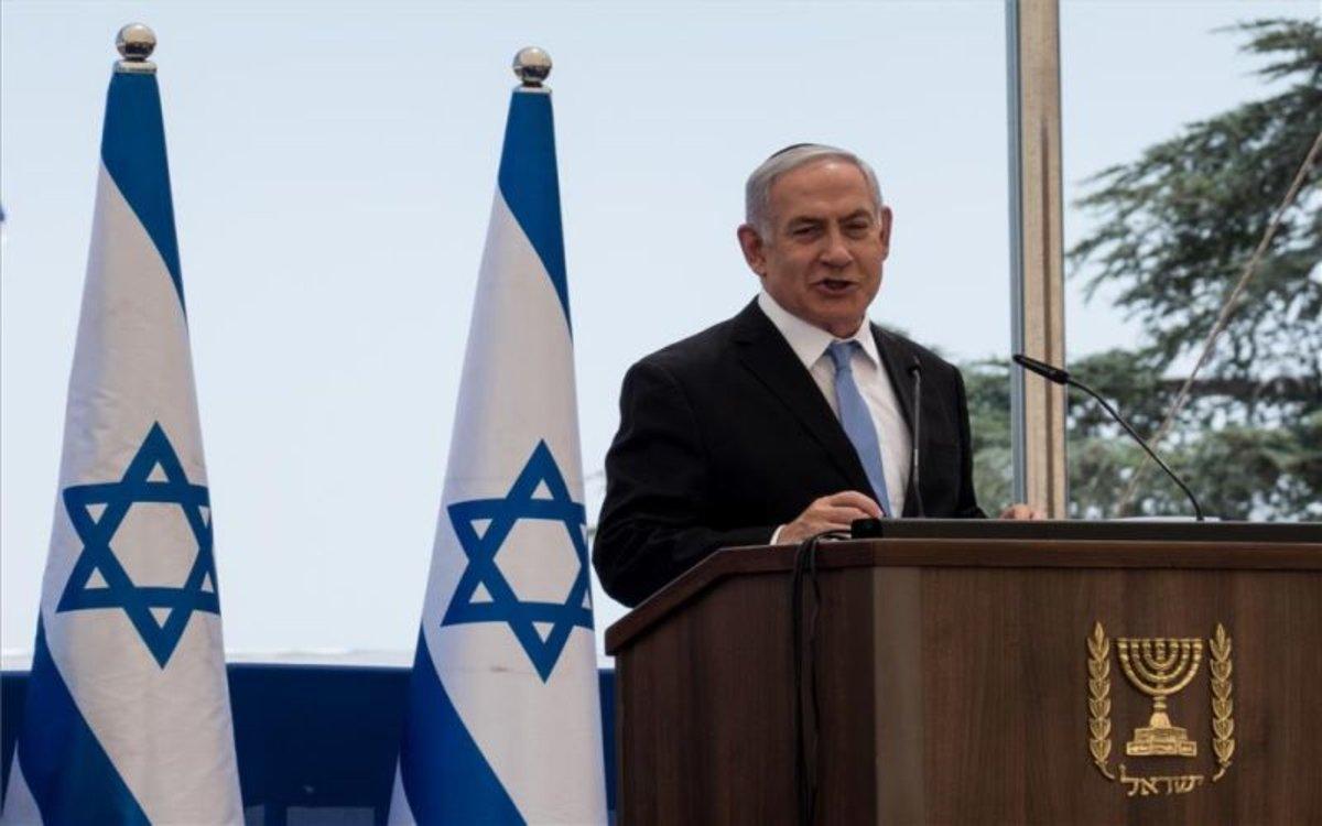 El primer ministro de Israel, Binyamin Netanyahu.