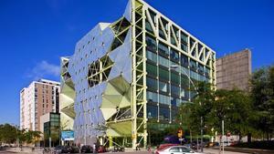 Edificio Media-TIC en el distrito 22@ de Barcelona.