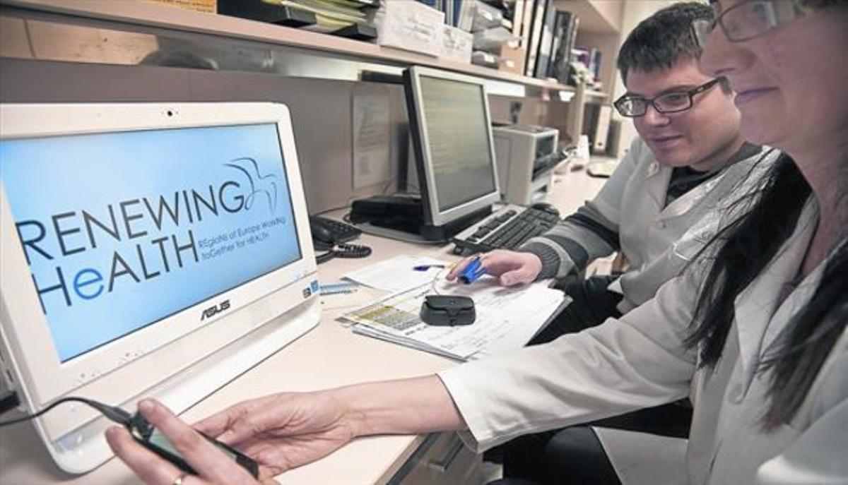 CENTRO EXPERIMENTAL.Unidad de atención integrada del Hospital Clínic de Barcelona, con tecnología móvil en contacto con pacientes.