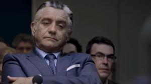 Pedro Casablanc, interpretando a Luis Bárcenas en 'B, la película'.