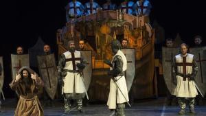 Primera representación, en Cuenca, de 'La conquista de Jerusalén por Godofre de Bullo', obra atribuida a Cervantes.