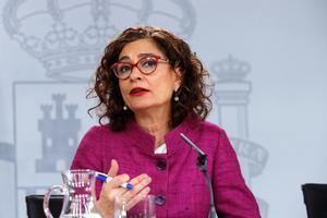La ministra de Hacienda, Maria Jesús Montero.