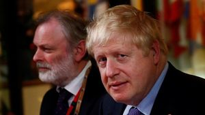 El primer ministro, Boris Johnson.