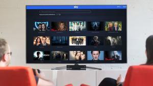 Imagen promocional del visionado de una plataforma de televisión por 'streaming'.