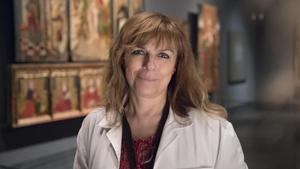 Carmen Berlabé, conservadora del Museu de Lleida y autora del libro 'Del Museu Diocesà al Museu de Lleida'.