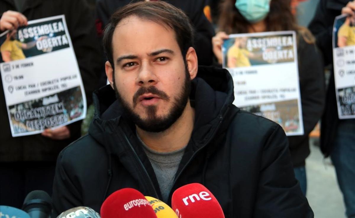 El rapero Pablo Hasél.