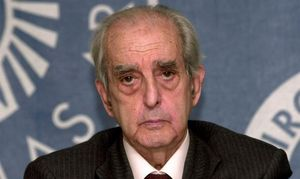 Fernando Morán, en una imagen del 2003.