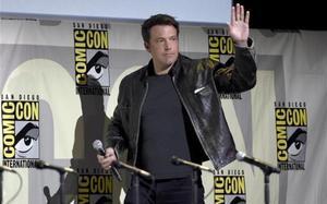 El actor Ben Affleck, en la presentación de 'Justice League', en Comic-Con.