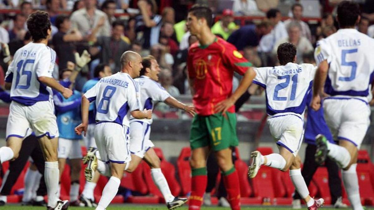 deportes  PORTUGAL GRECIA EUROCOPA 20014