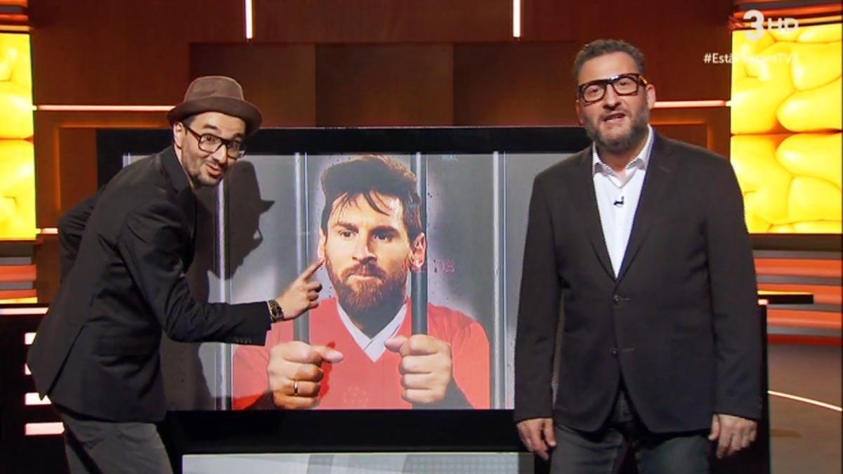 Messi, encarcelado por 'indepe' (TV-3).